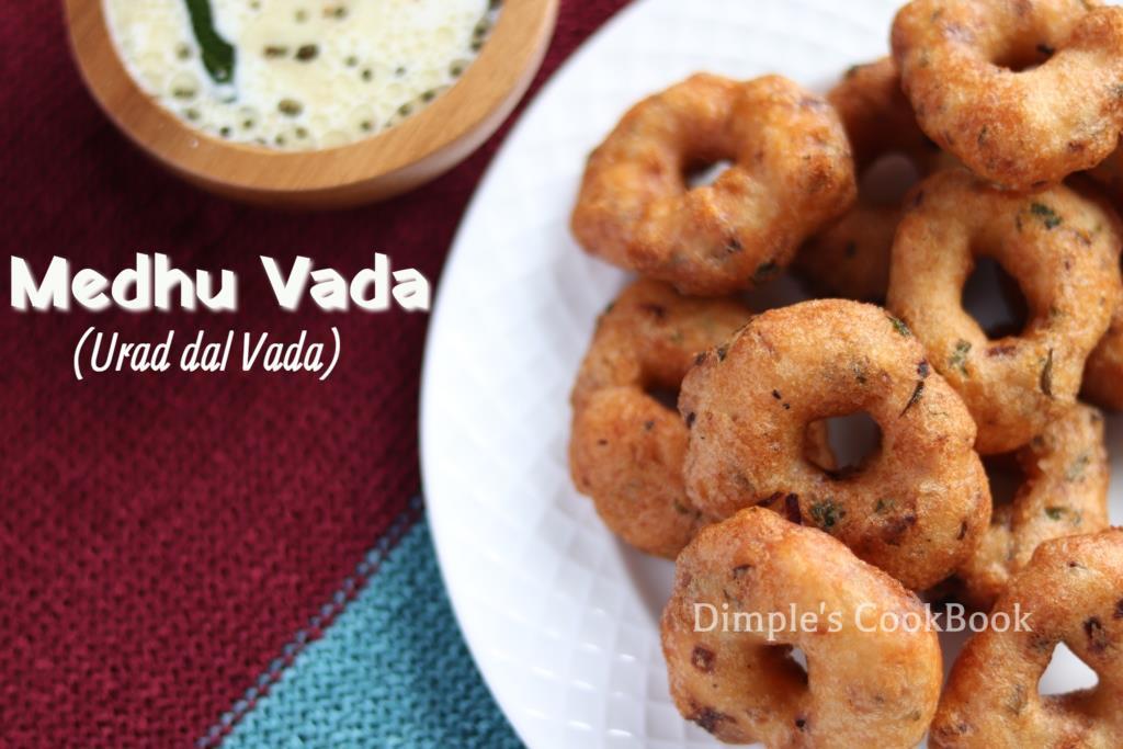 URAD DAL VADA|Medhu Vadai | Ulundhu Vadai | Indian Savory