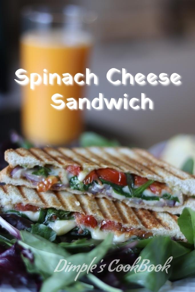 SpinachCheeseSandwich