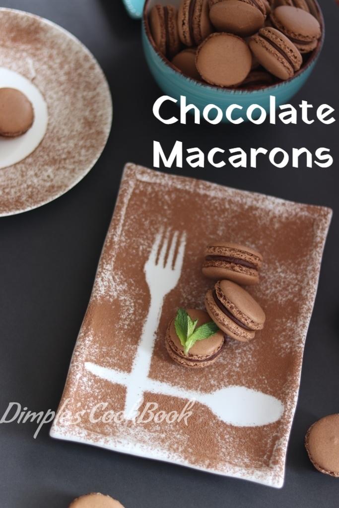 Chocolate_Macaron_Ganache