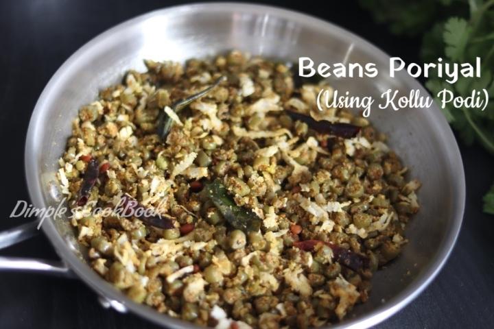Beans_Poriyal_Kollu_podi
